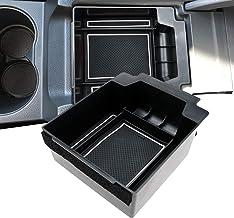 LFOTPP Ateca Guantera reposabrazos Caja Center Console Armrest Storage Box Interior (Blanco)