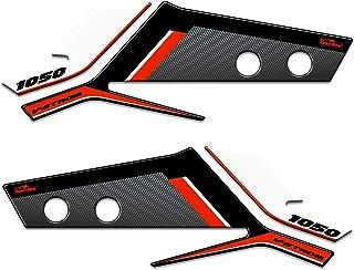 Nera Bianca Luce Fanuse 1 Paio di Protezioni per Manubrio Moto con Paramani A Luce LED Protezioni per Mani A LED Protezioni per Le Mani Universali Accessori per Motori