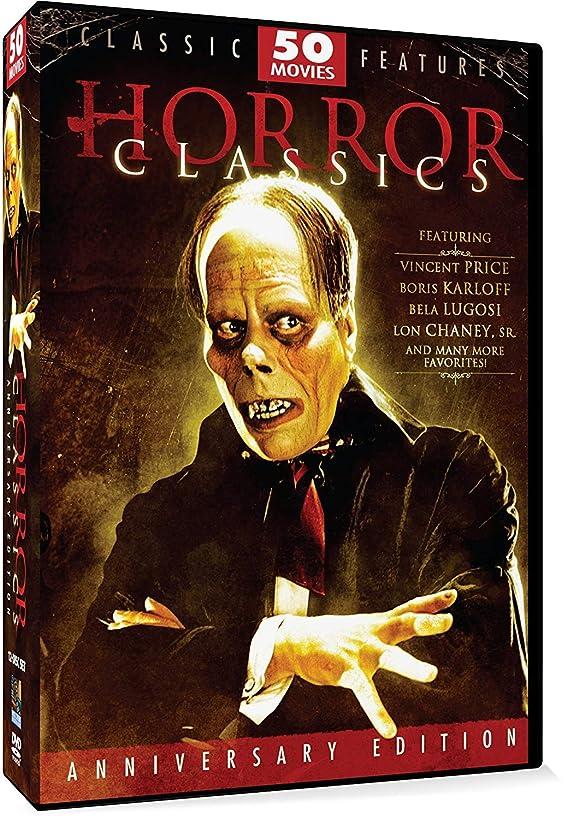 Horror Classics- 50 Movie Pack Anniversary Edition by Bela Lugosi