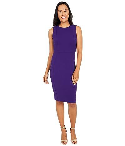 Calvin Klein Solid Sheath Dress (Night) Women