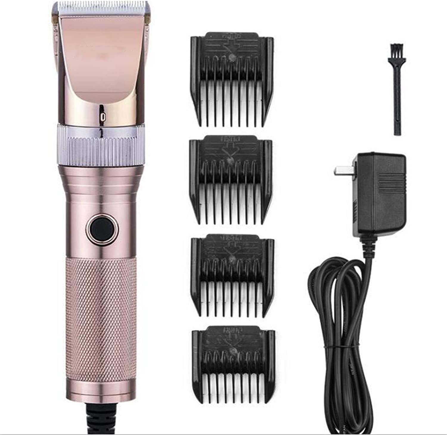 Dog Clippers, High Power Aluminum Alloy Body 12V High Strength Motor Shave Faster 35tooth Special Cutter Head,Finetuning Of The Five Gears