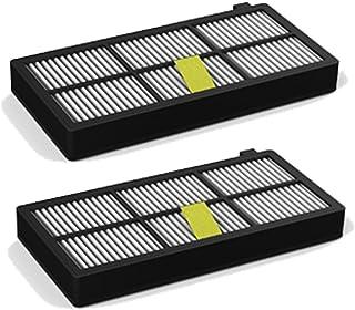 ROBOMARKET - Kit de recambios compatibles con iRobot Roomba 800 900 860 865 866 870 871 875 876 880 886 890 960 966 980 Juego de Accesorios de 2 HEPA Filtros