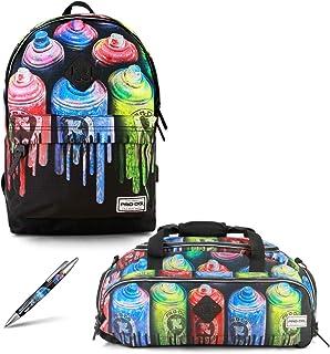 Colors-Mochila Freestyle+ Bolsa de Deporte Nomad + Bolígrafo retráctil