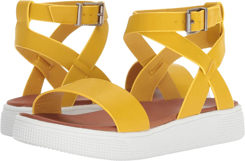 MIA Womens Calla Flat Sandal