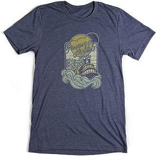 Bygone Brand Men's Mississippi Nights Shortsleeve T-shirt
