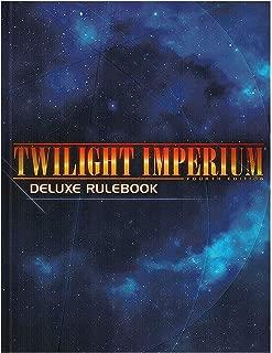 Fantasy Flight Games Twilight Imperium: 4th Edition Deluxe Rulebook HC