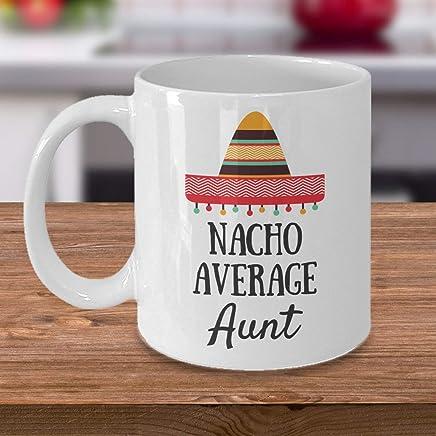 Amazoncom Nacho Average Aunt Future Aunt Auntie Mug