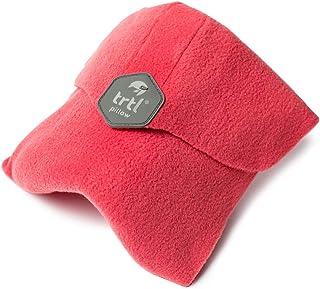 Trtl Pillow – Oreiller de Voyage Ultra Doux offrant Un Soutien de Cou scientifiquement prouvé - Lavable en Machine - Corail