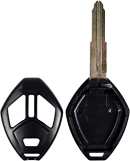 QualityKeylessPlus Reemplazo de la llave remota de la cabeza 3 botones para Mitsubishi FCC ID OUCG8D620MA o OUCG8D625MA