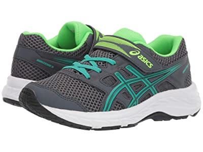 ASICS Kids Gel-Contend 5 (Toddler/Little Kid) (Carrier Grey/Baltic) Boys Shoes