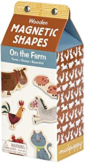On the Farm Wooden Magnetic Shapes