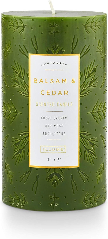 Illume Noble Max 58% OFF Holiday Balsam Cedar 7