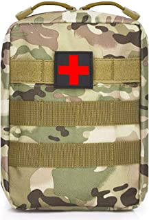 WEDO EMT Pouch-Tactical Molle First Aid Pouches, Small Military Medical Blowout IFAK Kit Bag