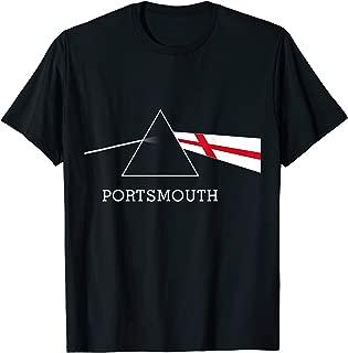 PORTSMOUTH England flag retro vintage album design T-Shirt
