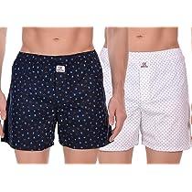 SIDEKICK Men's Cotton Boxers/Shorts – Combo