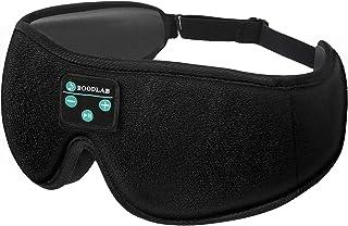 XOTUUY Sleep Headphones Bluetooth Eye Mask,Tech Gadgets Sleeping Headphones for Side Sleepers, 3D...