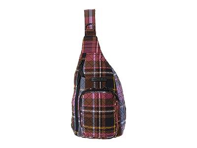 Vera Bradley Mini Sling Backpack (Cozy Plaid) Backpack Bags