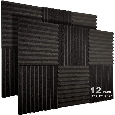 White 1.5 X 40 X 75 Soundproofing Acoustic Foam Egg Crate Foam Convoluted Mattress Studio Foam Wall Panel 1 Pack
