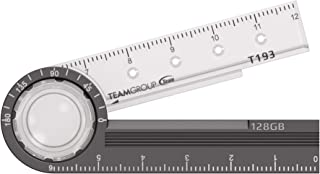TEAMGROUP T193 128GB USB 3.2 Gen 1 (3.1/3.0) Metal Stationery USB Flash Drive, External Storage Thumb Drive Memory Stick T...