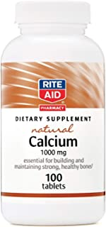 Rite Aid Calcium, 1000mg - 100 ct