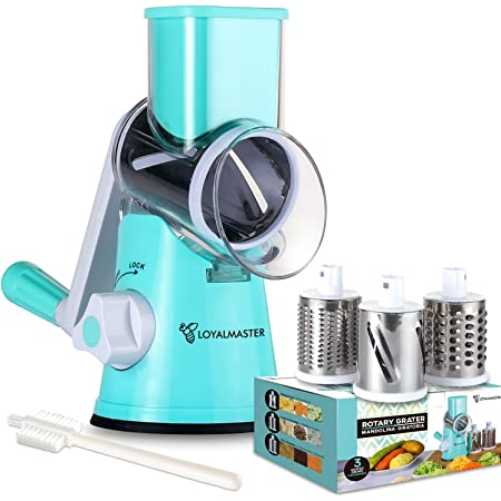 Kitchen Cheese Food Vegetable Carrot Grater Slicer Shredder With Container SH
