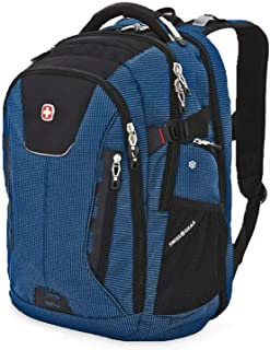 SWISSGEAR 5358 ScanSmart USB Backpack Blue Blue