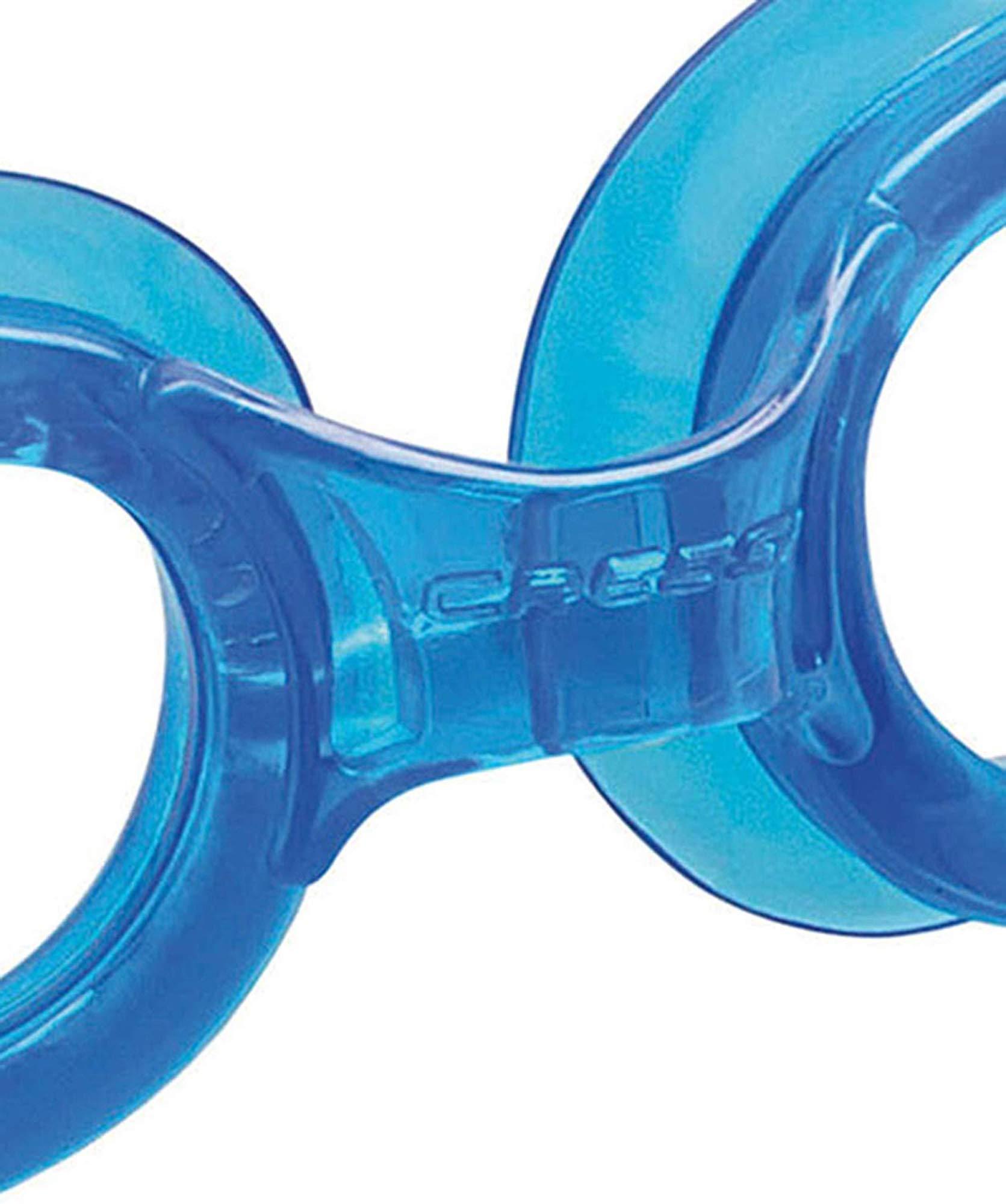 Cressi Premium Gafas de Natación para Adulto, Right, Azul/Lentes ...