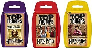 Harry Potter 3-5 Top Trumps Card Game Bundle