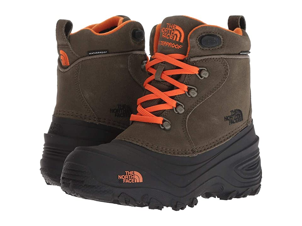 The North Face Kids Chilkat Lace II (Toddler/Little Kid/Big Kid) (Tarmac Green/Scarlet Ibis) Boys Shoes
