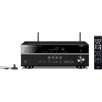 ヤマハ AVレシーバー RX-V485(B) 5.1ch ネットワーク/ハイレゾ再生/4K対応/Bluetooth内蔵 ブラック RX-V485(B)