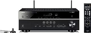 ヤマハ AVレシーバー 5.1ch ネットワーク ハイレゾ再生 4K対応 Bluetooth内蔵 ブラック RX-V485(B)