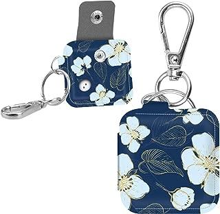 Famavala Colorful Case Cover Sleeve for Tile Mate/Tile Sport/Tile Style/Tile Pro Series Item Tracker Phone Finder (BluFlower)