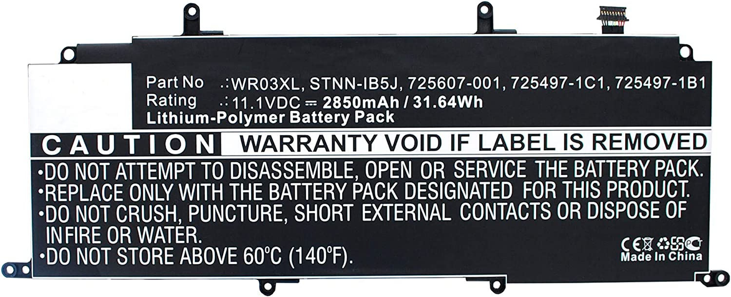 Synergy Digital Laptop Battery Compatible HP Max 63% OFF New popularity Pavilion 13-P with