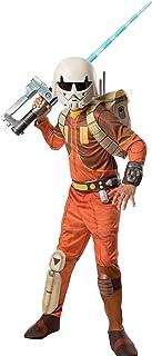 """Rubie's Kid's Star Wars Rebels Deluxe Ezra Bridger Costume, Medium, Age 5 - 7, HEIGHT 4' 2"""" - 4' 6"""""""