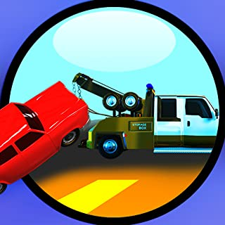 Tow Truck : The broken down car vehicle rescue towing game - Free Edition