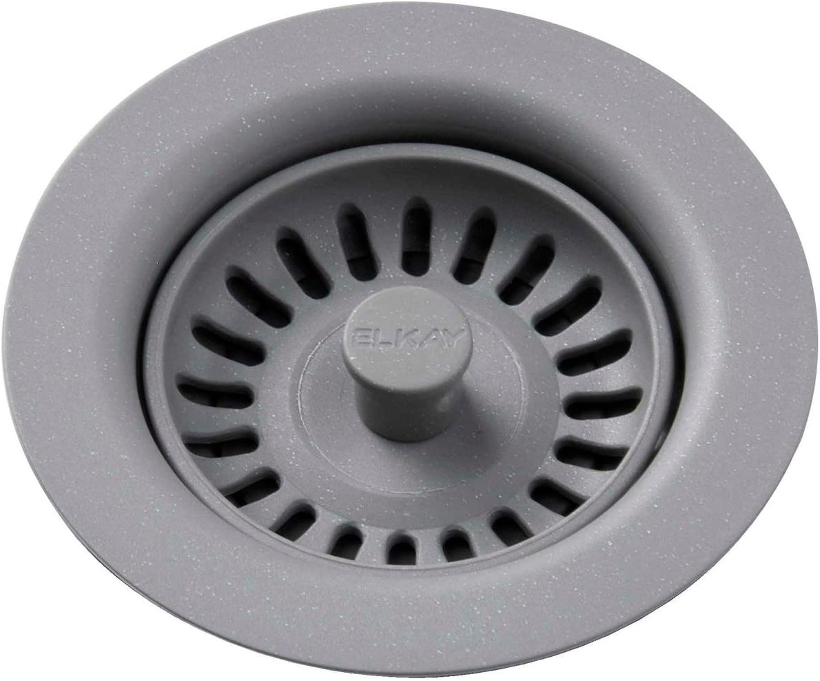 Elkay LKQS35GS Polymer Bombing new work Drain Fitting Removable Basket Store with Strai