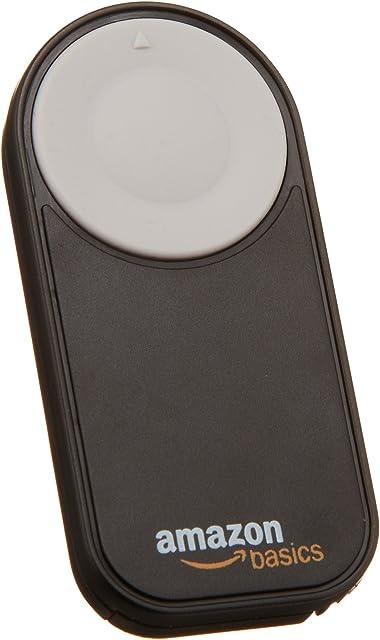 AmazonBasics - Disparador inalámbrico para Canon EOS 650D / 600D / 550D/ 500D / 400D / 350D / 5D Mark II / 7D color negro