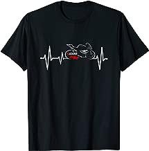 S1000RR heartbeat t-shirt motocycle tee