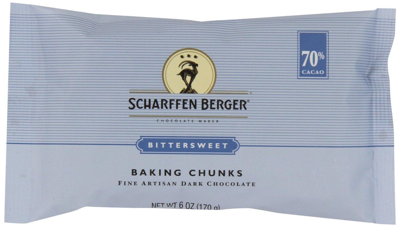 Scharffen Berger Baking Chunks Spasm price Bittersweet 70% SEAL limited product Dark Chocolate