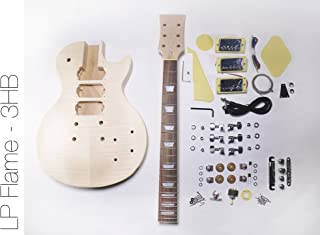 DIY Electric Guitar Kit 3 Humbucker Singlecut Style Build Your Own Guitar Kit