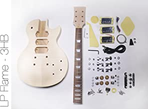 DIY Electric Guitar Kit 3 Humbucker Singlecut Style Build Your Own Guitar Kit