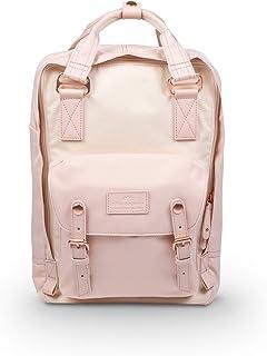 Doughnut Macaroon Nature Pale Series 16L Travel School Ladies College Girls Lightweight Commuter Casual Daypacks Bag Backpack