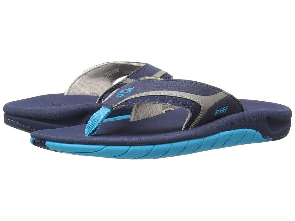 Reef Kids Slap II (Infant/Toddler/Little Kid/Big Kid) (Blue) Boys Shoes