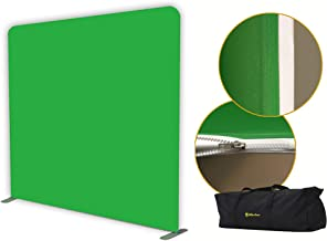 Glide Gear 8x8 Wrinkle Free BCK 50 Chromakey Gaming Video Photography Green Screen Backdrop