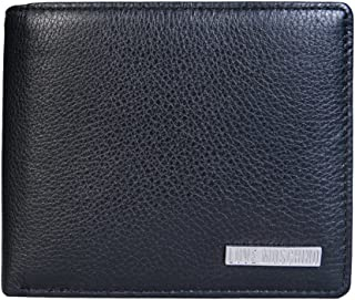 338b79ccb8 Moschino Men Bifold Wallet JD5701PP14FD Size ONE Size Black