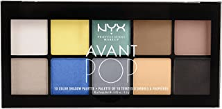 NYX Professional Makeup Avant Pop Shadow Palette, Surreal My Heart, 0.5 Ounce