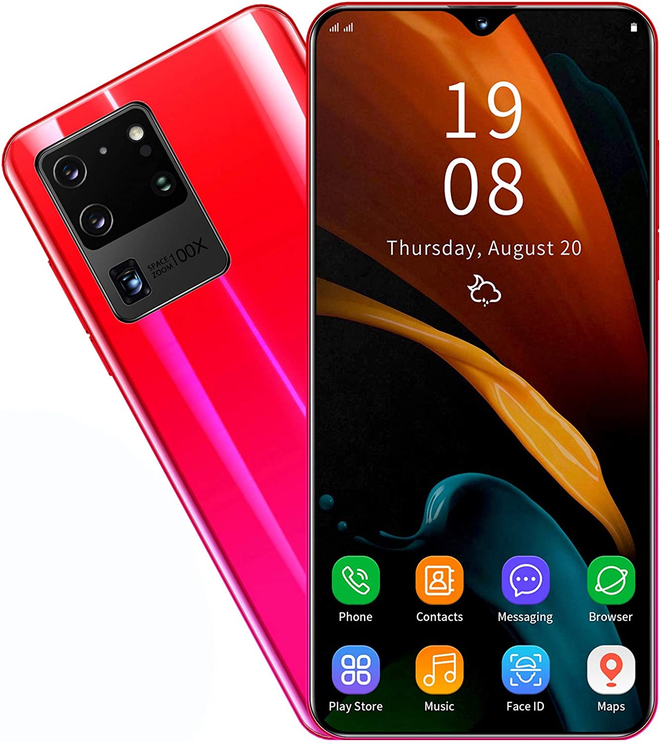 Max 40% OFF Dilwe1 S20U Unlocked Android Smartphone Face Screen New life 6.26in ID U