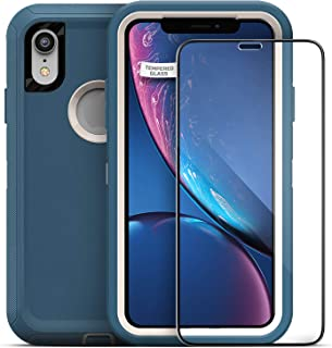 Magglass Tempered Glass Screen Protector for Otterbox Defender Series - iPhone XR 6.1