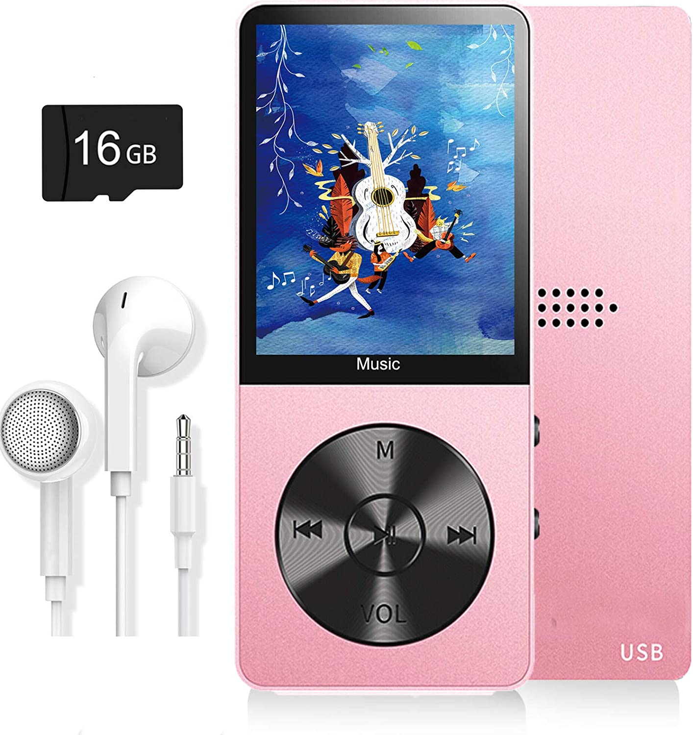 E-Book Reader Dyzeryk Music Player with 16GB Micro SD Card Photo ...