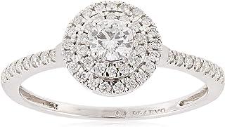 Pure Gold Jewellers Women Diamond QCTFS Ring - 2.50 gm